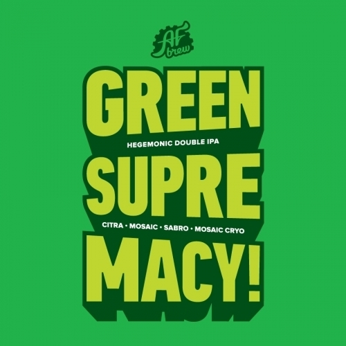 Пиво Green Supremacy!