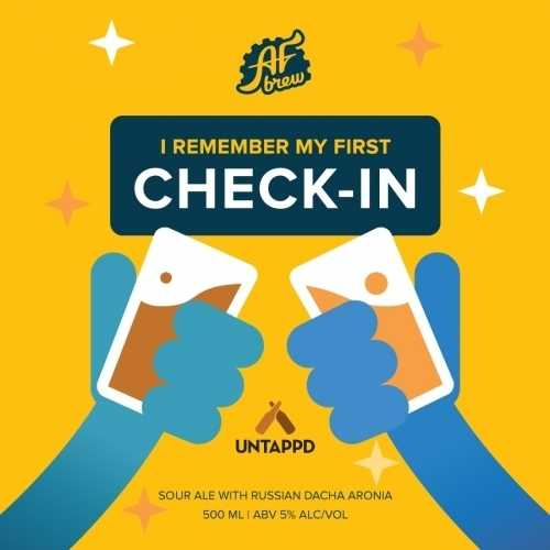 Пиво I Remember My First Check-In