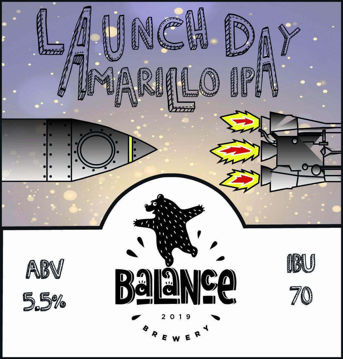 Пиво Launch Day Amarillo IPA