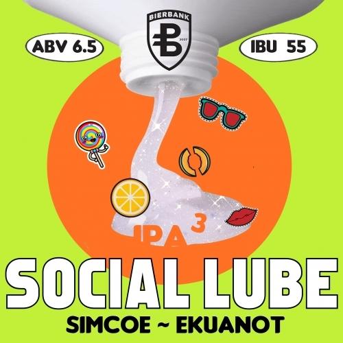 Пиво Social Lube³: Simcoe • Ekuanot
