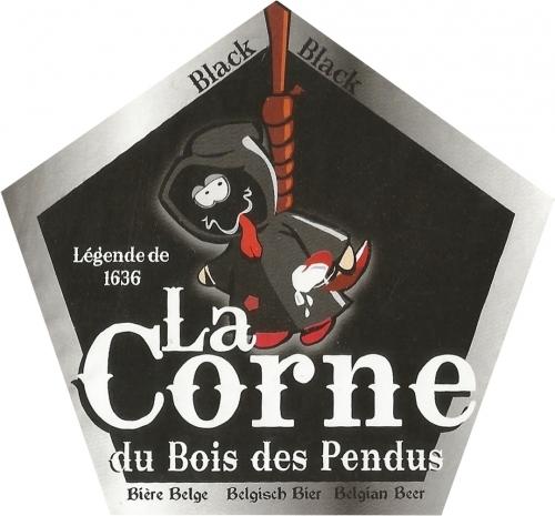 Пиво La Corne du Bois des Pendus Black