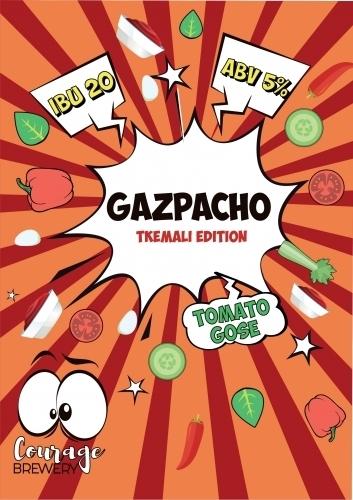 Пиво Gazpacho Tkemali (Гаспачо Ткемали)