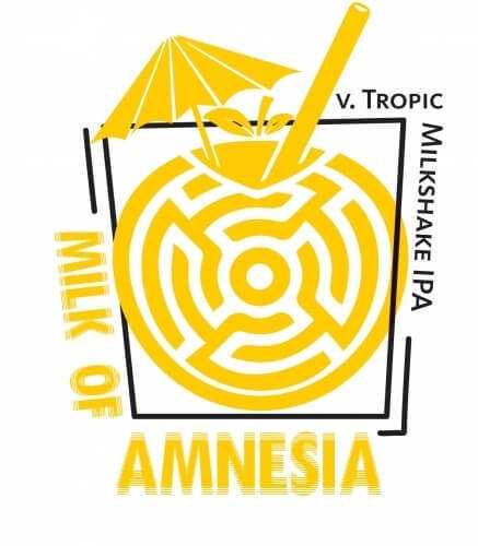 Пиво Milk of Amnesia v. Tropic Milkshake IPA