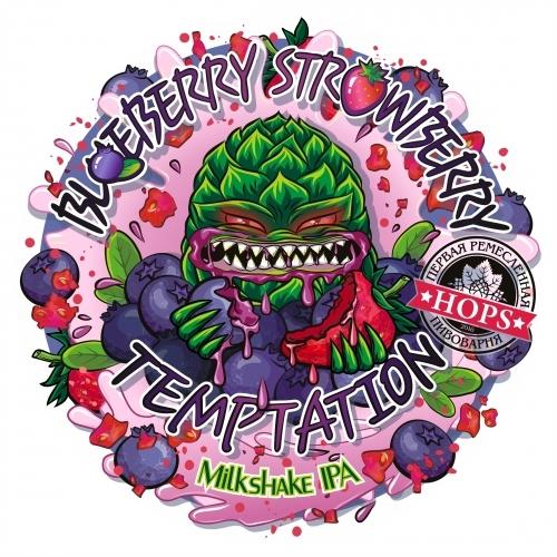 Пиво Blueberry Strawberry Temptation