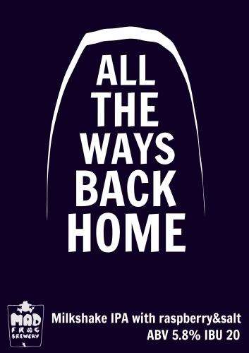 Пиво All the Ways Back Home