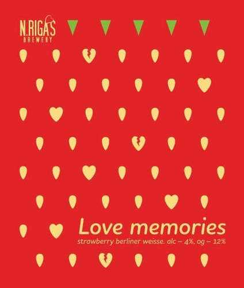 Пиво Love Memories