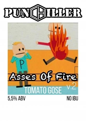 Пиво Asses of Fire V.2