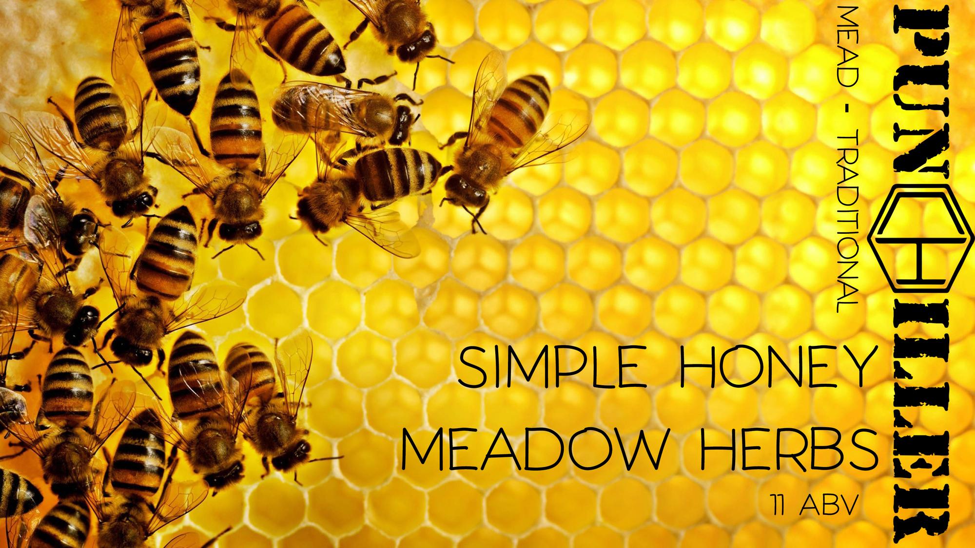 Мёд Simple Honey: Meadow Herbs