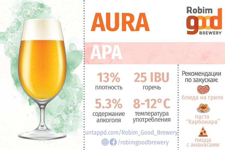 Пиво Aura